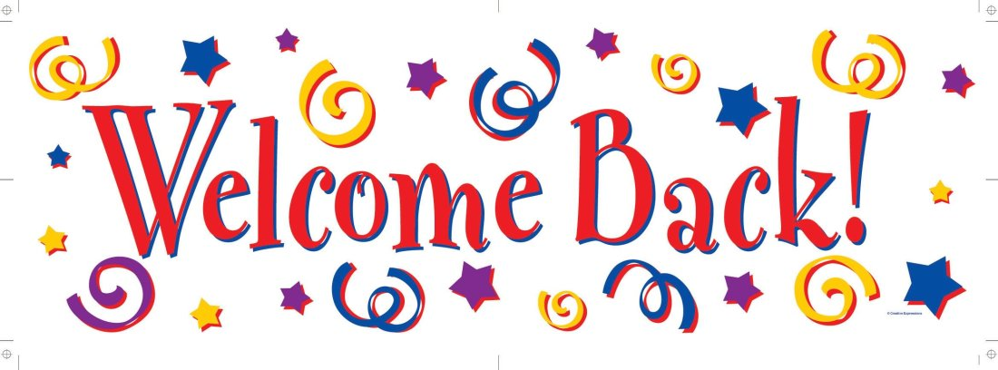 welcome back animations clipart 1