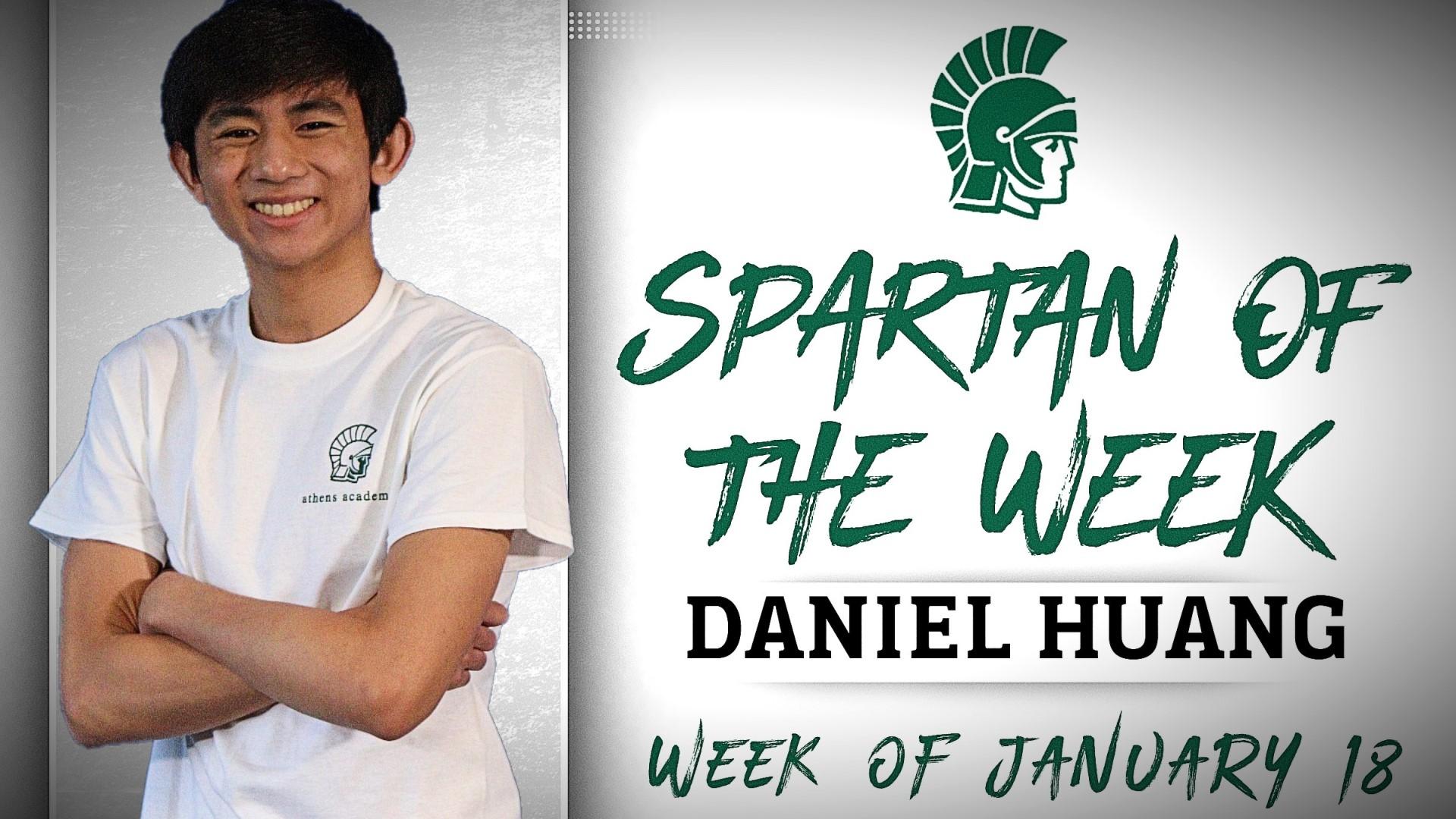 Spartan of the Week - Daniel Huang