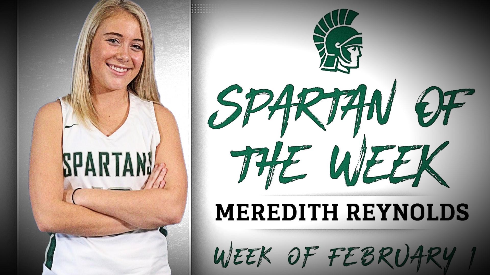 Spartan of the Week - Meredith Reynolds