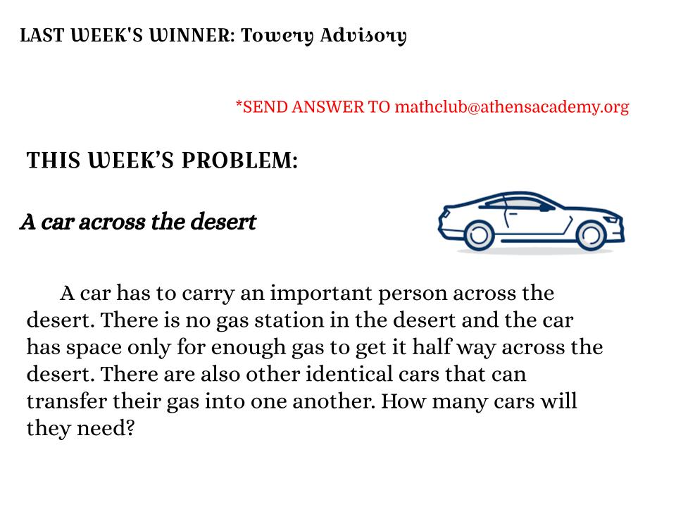 weekly problem 3_1_2021
